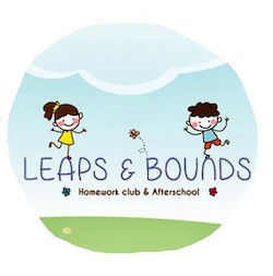 leaps and bounds logo fundrasier